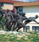 "Group of figures ""Impulse"" by Karl-Henning Seemann, Würth, Künzelsau"