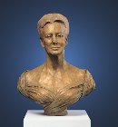 Bust, Queen Margrethe II of Denmark