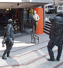 Group of figures, Esslingen Theater