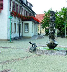 Fountain of Local History, Süssen