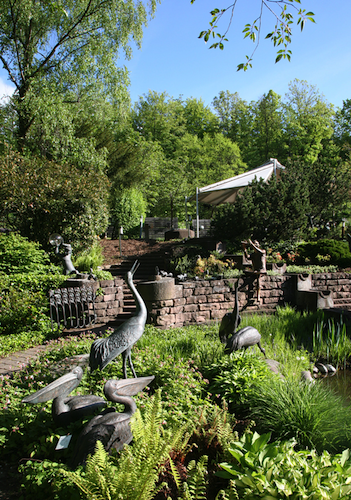 Strassacker sculpture garden